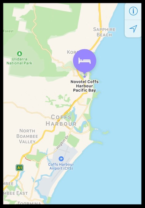 where is novotel pacific bay