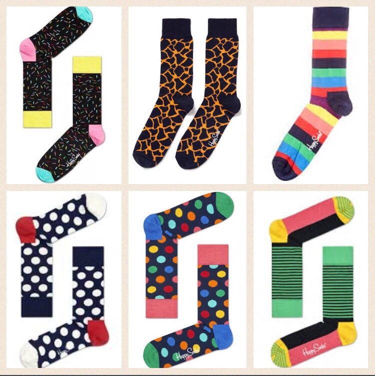 happy socks make great gifts for men