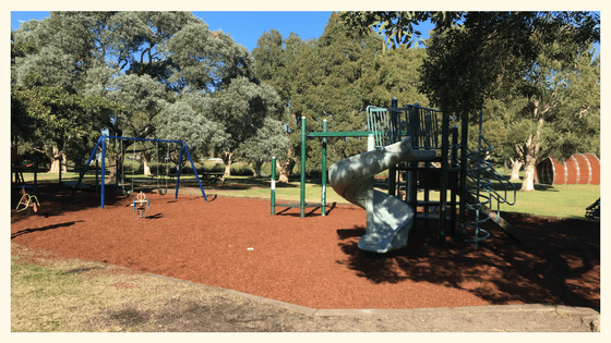 Playgrounds in Centennial Park