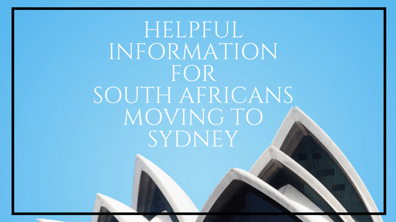 information for moving to sydney
