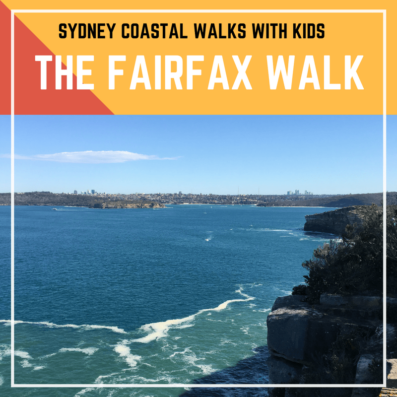 Sydney Coastal Walks with Kids - The Fairfax Walk in North Head