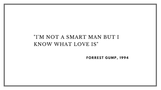 Saddest Movies of All Time: Forrest Gump.