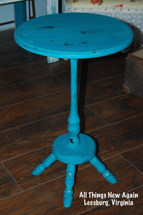 little turquoise table_AllThingsNewAgain