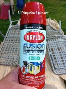 Krylon Fusion Spraypaint for Plastic