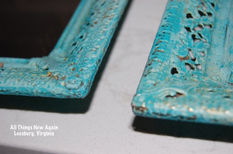turquoise mirror trays_closeup
