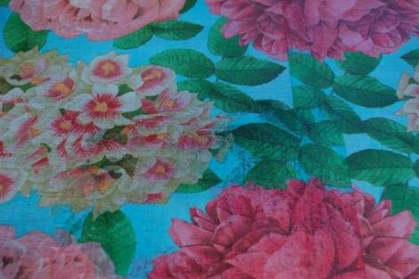 Paper Napkins Look Beautiful Decoupaged onto Furniture