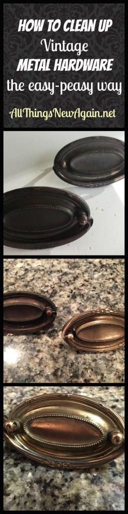 How To Clean Up Vintage Metal Hardware