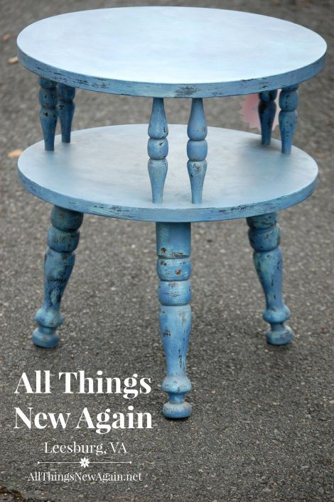APC blue jeans and surfboard table