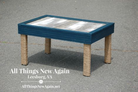 handmade nautical table