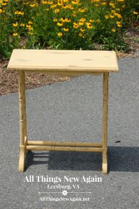 RMP yellow rose table