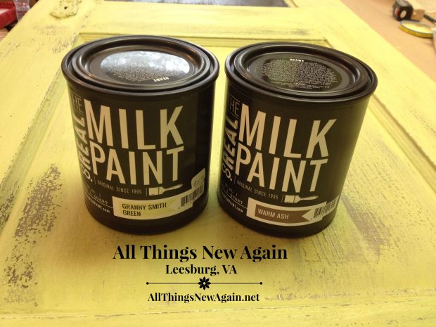 Real Milk Paint | Milk Paint Class | All Things New Again | Northern Virginia | Furniture Painting Class