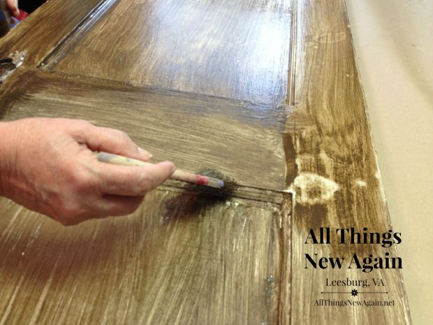 Vintage Door | Real Milk Paint | Farmhouse Paint Treatment