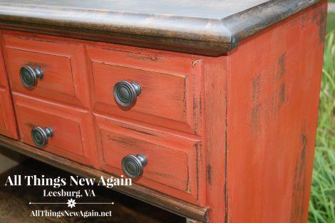 dresser turned bookcase_closeup2