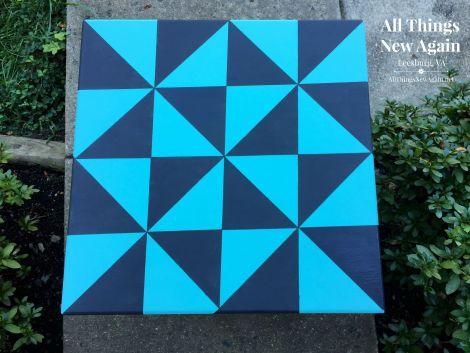 Geometric Design_tabletop closeup