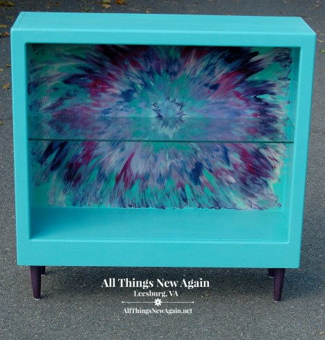 Unicorn Spit | Aura Blast Design | Colorful Furniture Makeovers | All Things New Again
