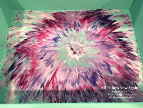 How to Create an Aura Blast Design with Unicorn Spit rainbow gel stain