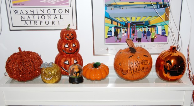 Halloween Home Tour | All Things New Again | Ceramic Pumpkin Patch
