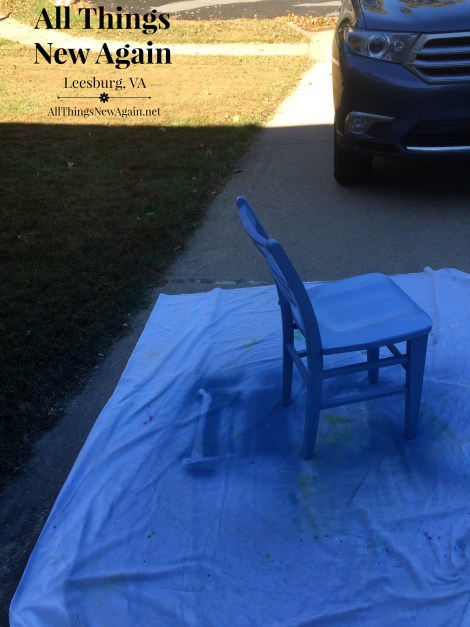 lace chair_overspray