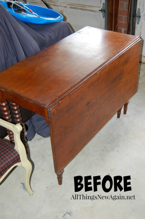drop leaf table_before1