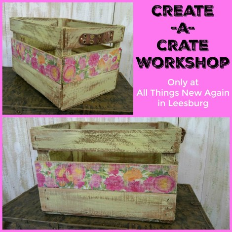 Create A Crate Workshop flyer