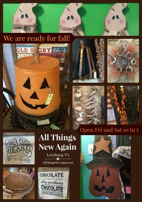 ready-for-fall-seasonal-decor-items-available-All Things New Again-Leesburg-Virginia-www.AllThingsNewAgain.net