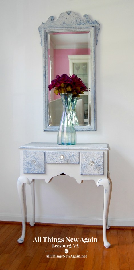 saltwash-hall-table-and-mirror_all-things-new-again_Leesburg VA_www.allthingsnewagain.net