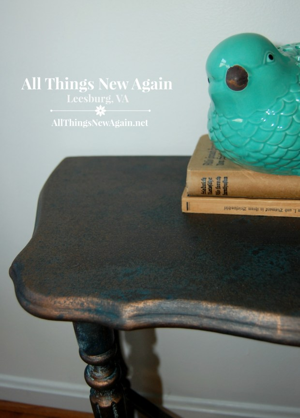 Dixie Belle Paint Co. | Patina Collection | Bronze Table | Patina Furniture DIY | Home Decor Ideas