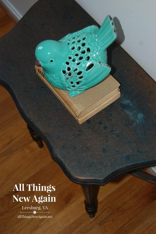 Dixie Belle Patina Paint | Dixie Belle Paint Co. | Patina Collection | Bronze Table | Home Decor Ideas