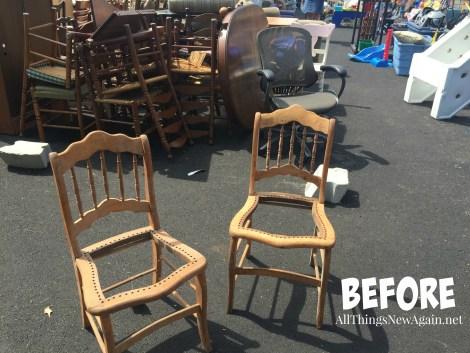 Transform broken chairs into Outdoor Garden Planter Chairs | DIY Tutorial | Outdoor Furniture | Porch and Patio Furniture DIY Ideas