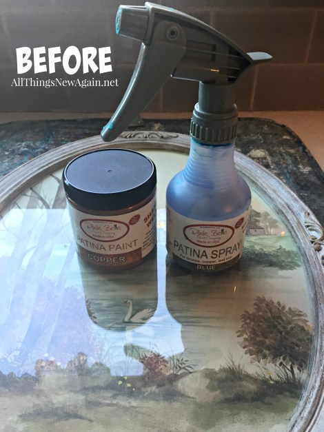 Dixie Belle Paint Co. | Patina Collection | Ideas for Outdated Yard Sale Art | How to Make Frames Look Vintage | Home Decor Ideas