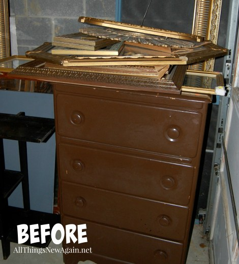 Before Shot | Painted Furniture Makeover