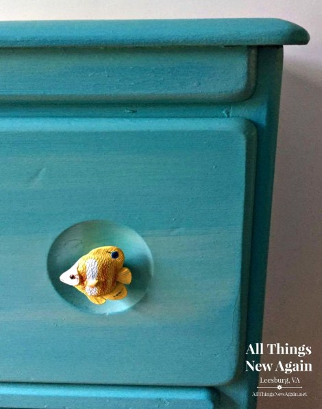 Beach Dresser | Fish Drawer Pulls | Fish Drawer Knobs