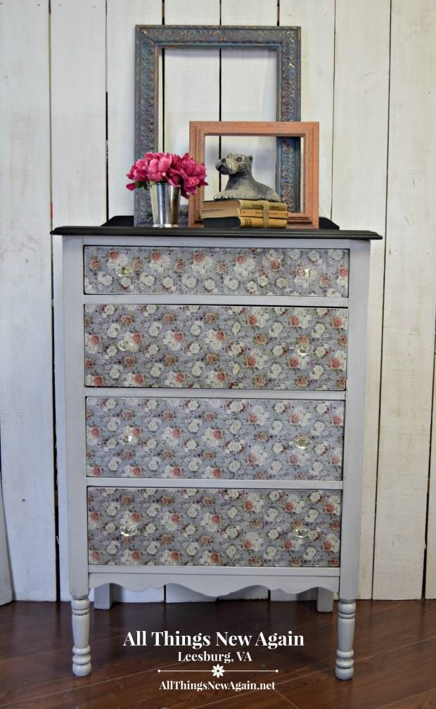 Vintage Dresser | Vintage Secretary Desk | All Things New Again