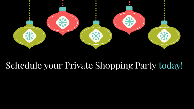 Schedule your Private Shopping Party at All Things New Again today!