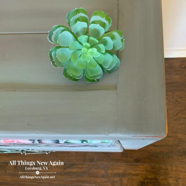 Painted Furniture | Blending Painted Furniture