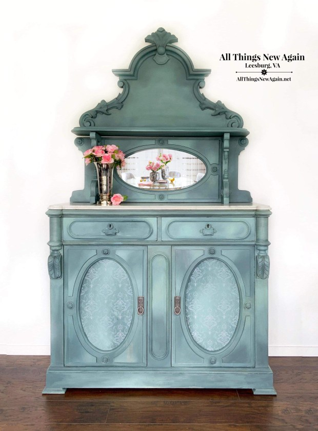 Victorian Buffet Sideboard For Sale