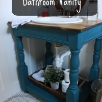 Guest Bathroom: How To Build a Farmhouse Vanity