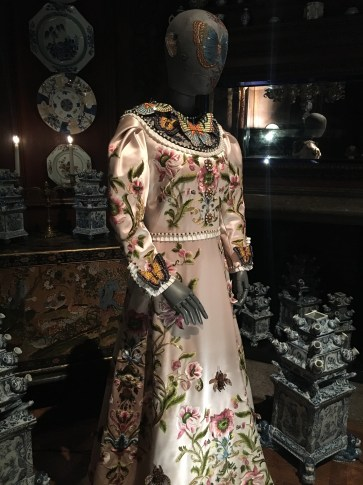 Gucci's floral inspired dress