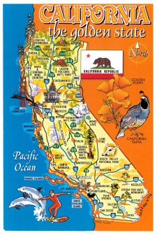 The Golden State of California