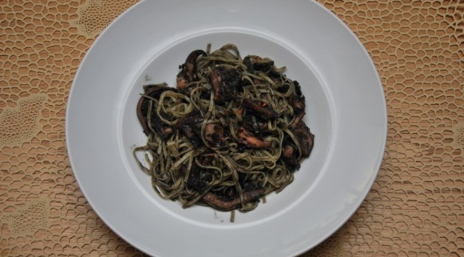 MONTALBANO'S PASTA WITH BLACK INK SAUCE