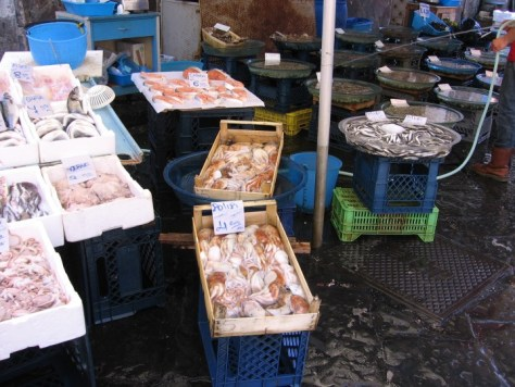 Naples fish market 4