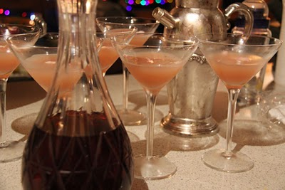 ROSE PETAL LIQUEUR COCKTAIL (From one of my readers)