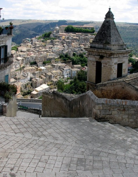 Ragusa steps to Ibla_