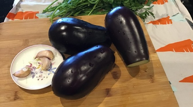 MELANZANE – eggplants – A FUNGHETTO or TRIFOLATE
