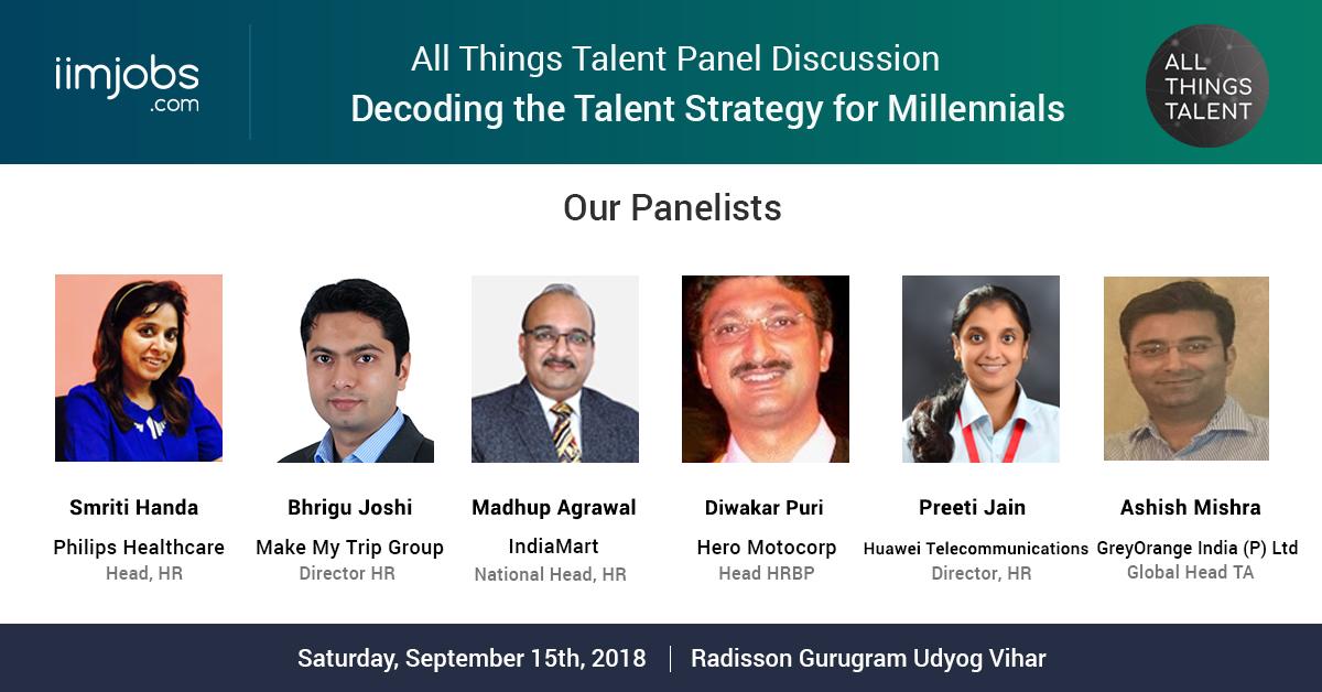 all things talent event - delhi september 2018