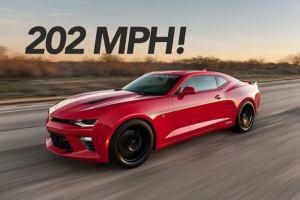 200 mph car