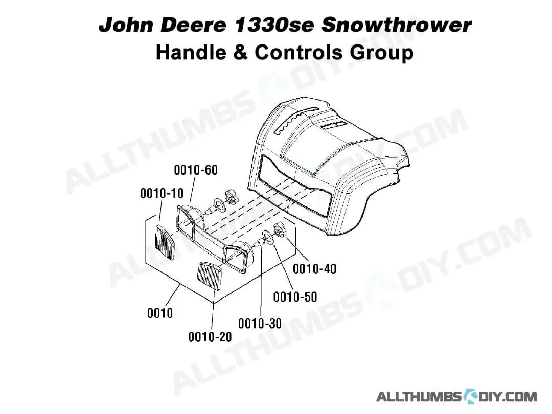 Allthumbsdiy Snow Thrower John Deere Se Headlights