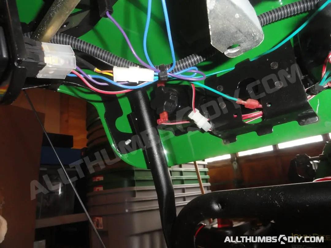 John Deere 1330se Snowblower - Wiring Harness For The Handle Group