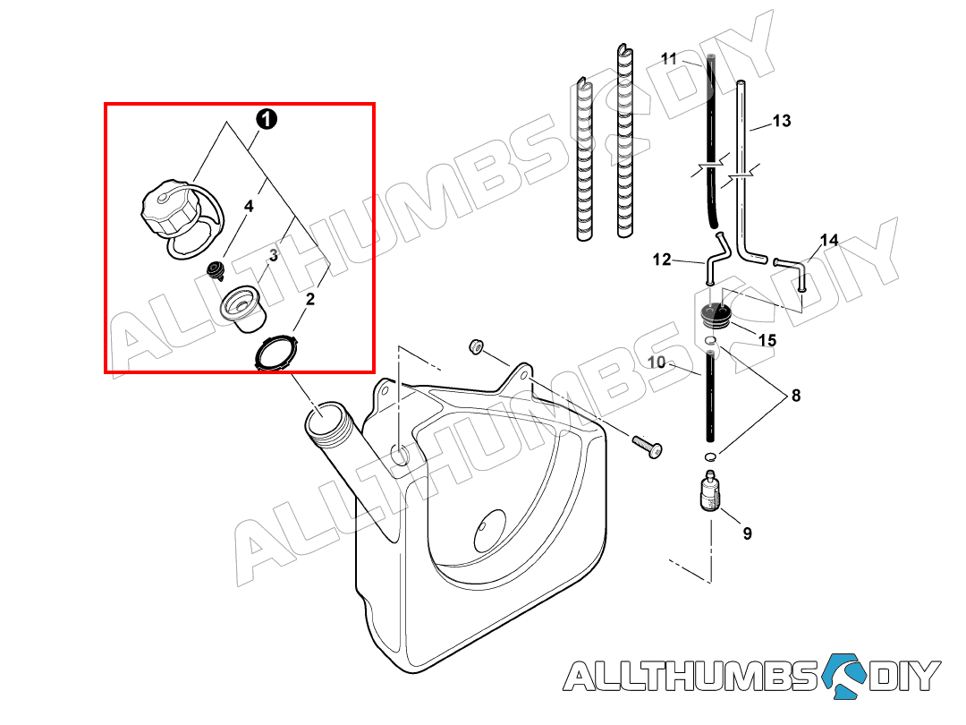 Allthumbsdiy Echo Pb 413h Leaf Blower Gas Cap Diagram Fl