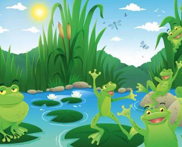 Inspirational Story Two Frogs